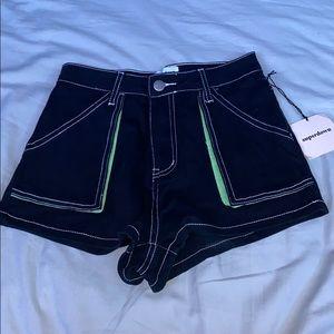 Prettylittlething Jean Shorts
